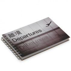 Summer Odyssey departures landscape notebook