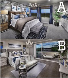 Both have hints of BLUE, but which one is more appealing to YOU?! #newhome #realestate A: http://spr.ly/64908puRK B: http://spr.ly/64918puRz