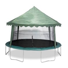 14' Solid Green Canopy Trampoline Cover