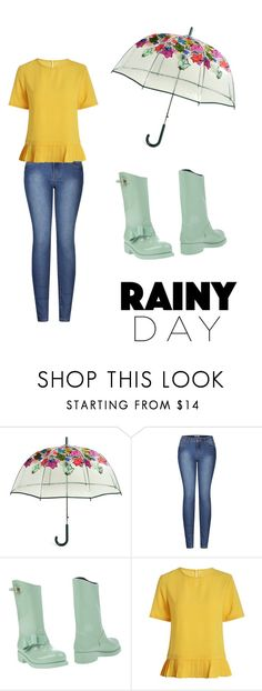 """""""April Showers"""" by karapent123 ❤ liked on Polyvore featuring Vera Bradley, 2LUV and RED Valentino"""
