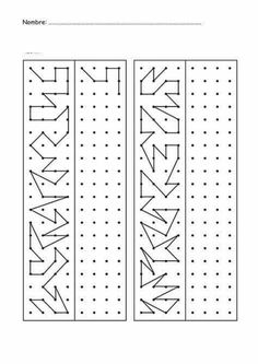 23 Activities to complete drawings – Aluno On Visual Perceptual Activities, Educational Activities, Preschool Activities, Visual Motor Activities, Drawing Activities, Symmetry Worksheets, Kids Math Worksheets, Coding For Kids, Math For Kids