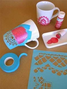 DIY Projects: Adorable Mugs 2014