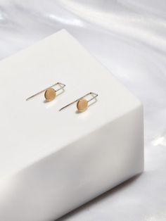 Mini Pendulum Earrings by RockSaltVintage on Etsy