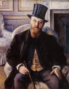 Portrait of Jules Dubois 1885 - Gustave Caillebotte