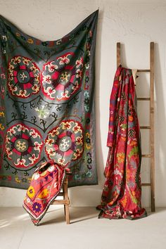 One-Of-A-Kind Suzani Wall Hanging