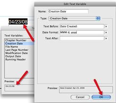 "There are times information not included in the default page information may be useful. For example if you wanted to have the ""creation date"" included on the document you are printing out. This can be good if you have several versions of a file and need to know when in the design process a certain file was created."