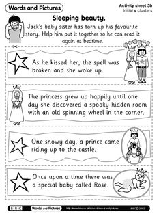 FREE - Story Sequencing - First Next Then Last - Great practice for Blends too! Click on Activity 3B