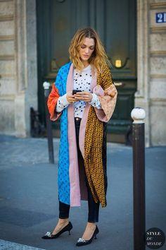 Paris SS 2017 Street Style: Sofia Sanchez de Betak The Best of street fashion in 2017.