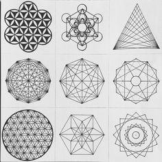 Compass drawing, platonic solid, lotus art, logo process, sacred geometry a Geometric Sleeve, Geometric Shapes, Yoga Symbole, Compass Drawing, Flower Of Life Tattoo, Sacred Geometry Symbols, Lotus Art, Platonic Solid, Mandala Drawing