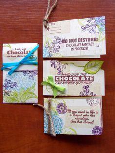 Ludiec chocolate labels
