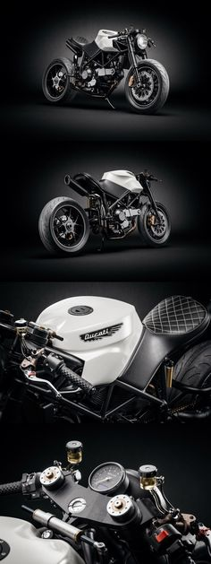 Cafe Racer, Scrambler, Tracker and Custom Motorcycles Ducati 916, Moto Ducati, Ducati Cafe Racer, Moto Bike, Cafe Racers, Retro Motorcycle, Cafe Racer Motorcycle, Motorcycle Design, Bike Design
