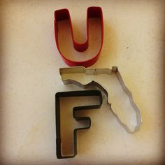 University of Florida Cookie Cutter Set - Make Your Own Collegiate Collection at MakeYourKitchenSmile.com
