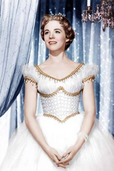Julie Andrews in a TV special of Rodgers & Hammerstein's <i>Cinderella</i>, 1957