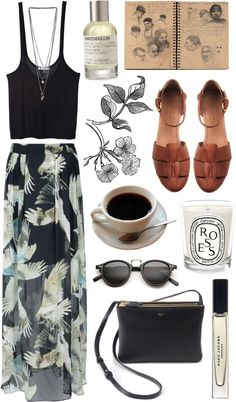 """summer days driftin' away"" by animagus on Polyvore"