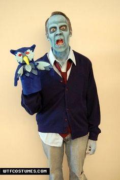 Zombie Mr. Rogers Costume