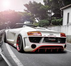 Audi R8 V10 Spyder from Regula Tuning