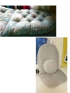 I made the pillow cover. Bean Bag Chair, Pillow Covers, Pillows, Furniture, Home Decor, Pillow Case Dresses, Decoration Home, Pillow Shams, Room Decor