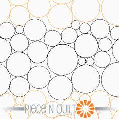 Pebbles Pantograph Pattern - Paper