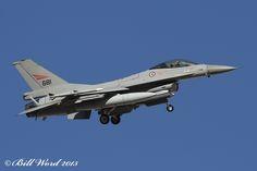 General Dynamics F-16AM Viper cn6K-53 RNoAF 681