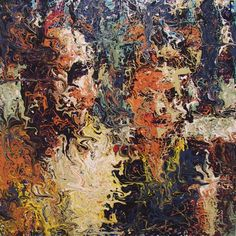 craig paul nowak memory series some of the first figurative drip paintings 2005 Drip Painting, Abstract Portrait, Jackson Pollock, Pictures To Paint, Figurative, Artist, Paintings, Paint, Artists