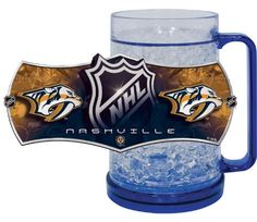 Nashville Predators Freezer Mugs