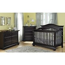 "Baby Caché Heritage Lifetime Crib - Espresso - Baby Cache - Babies""R""Us Crib is $549.99 and Double Dresser is $749.99"