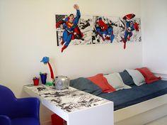 SUPER MAN QUARTO HEROIS