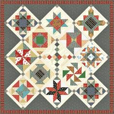 Little House on the Prairie - Ma and Pa Free Quilt Pattern
