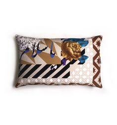 Ya Salam | 'Pattern & Print' cushion collection Terrazzo Tile, Tiles, Pattern Print, Print Patterns, Velvet Video, Printed Cushions, Marble Floor, Velvet Cushions, Rattan