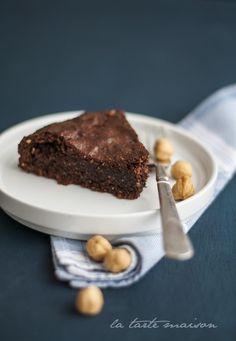 Torta nocciole e cioccolato