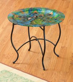 Furniture,Round Metal Table Base,Metal,18.25x18.25x17.25 Inches by Highland Crafts. $29.88