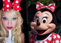 Minnie Mouse Costume Makeup