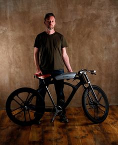 """The Noordung Angel Edition is a sexy, minimalist electric bike full of interesting features. """"We took the battery and rethought it from all perspectives. The result is an innovative multifunctional boombox that plays music from your mobile phone, empowers pedal assistance, powers your laptop, tablet and phone, and analyzes air quality on your route."""" """"Design wise, you'll find a retro-style leather seat by famed bike seat maker Brooks, that interestingly works with the phat bl..."""