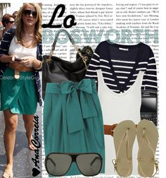 """""""1104. Lo Bosworth"""" by anacorreia ❤ liked on Polyvore"""