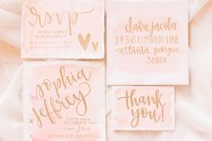 This feminine styled shoot from Jess Rich Photography is overflowing with pink, gold, and girly details with just the right amount of taste and class.