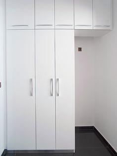 Ανακαίνιση σπιτιού στα Βριλήσσια   Home Done Tall Cabinet Storage, Locker Storage, Lockers, Furniture, Home Decor, Decoration Home, Room Decor, Locker, Home Furnishings