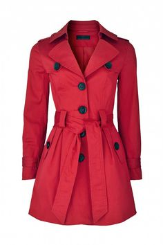 Red Trench Coat ♥