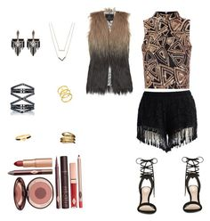 """""""Untitled #3"""" by iftin-111 on Polyvore featuring Glamorous, Chicwish, ALDO, Eva Fehren, Lulu Frost, Michael Kors, Temple St. Clair, Lord & Taylor, Hermès and Unreal Fur"""