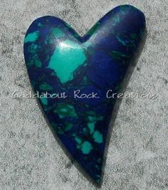 Gaddabout Rock Creations - Reconstituted Azurite Cabochon 5397, $18.95 (http://stores.gaddaboutrockcreations.com/reconstituted-azurite-cabochon-5397/)