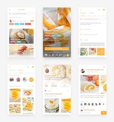 dark fade and bright fade! Ui Design Mobile, Mobile Application Design, Ios App Design, Interface Design, User Interface, App Design Inspiration, Mobile App Ui, Design Development, Orange