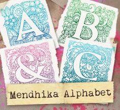 Mendhika Alphabet (Design Pack)_image