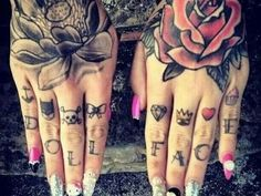 185 Impressive Hand Tattoos for Men And Women cool Check more at https://tattoorevolution.com/hand-tattoos/