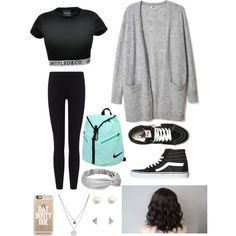Untitled #18 by mallorywhatley on Polyvore featuring James Perse, Vans, NIKE, Kenneth Cole and Casetify