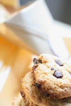 Les petits plats d'Huguette: Cookies au méga chunk de chocolat de C. Michalak