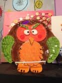 Slab owl made by Dish It Out customer