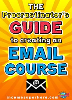 Do you struggle with procrastination? I sure do. Learn how you can create your first free email course in 2 hours even if you struggle with getting things done. All the tech training is included as well as the landing page template I used to get 50% conversions. Click to learn this method now.