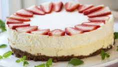 Tinas ostekake I Love Food, Tin, Cheesecake, Food And Drink, Sweets, Meals, Baking, Desserts, Cakes