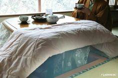 How did you spent the days in cold winter? Japanese Kotatsu that built into the floor?  #japankuru #japan #cooljapan #tokyo #100tokyo #winter #snow #stove #kotatsu