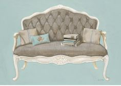 Obsessing over this print and can't find it in the US. Ughhhhh Arnie Fisk Linen Recline