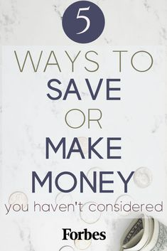 FORBES' TOP MONEY TIPS: 5 Ways to Make Money or Save Money You Haven't Even Thought of. These money saving tips will help you achieve your personal finance goals such as paying off debt, saving money for an emergency fund, or making money from home. Make More Money, Ways To Save Money, Money Tips, Money Saving Tips, Extra Money, Make Money Online, Extra Cash, Managing Money, Thing 1